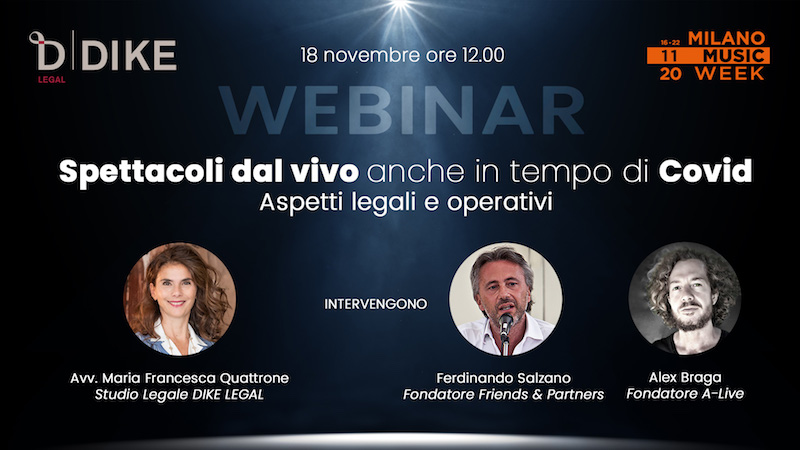 Milano Music Week webinar